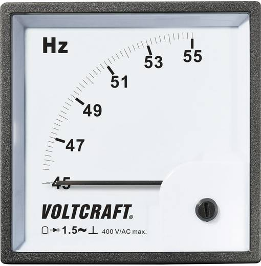 VOLTCRAFT AM-96X96/50HZ Analoge inbouwmeter AM-96X96/50 HZ
