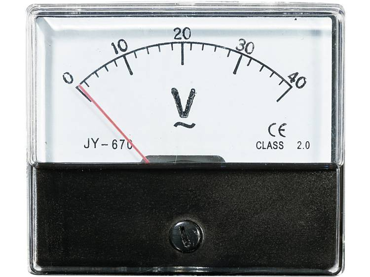 Analoog inbouwmeetapparaat VOLTCRAFT AM-70X60/40V 40 V Draaispoel