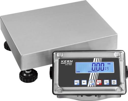 Kern SFE 15K5IPM Platformweegschaal Weegbereik (max.) 15 kg Resolutie 5 g Werkt op het lichtnet, Werkt op een accu Zilve
