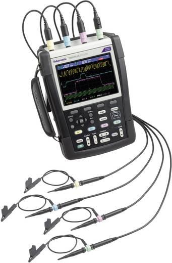 Tektronix THS3024 Handoscilloscoop (scoopmeter) 200 MHz 4-kanaals 1.25 GSa/s 2.5 kpts 8 Bit Digitaal geheugen (DSO), Spectrum-analyser