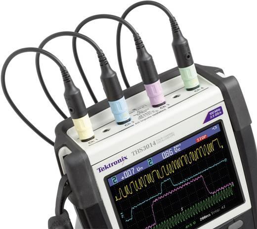 Tektronix THS3014 Handoscilloscoop (scoopmeter) 100 MHz 4-kanaals 1.25 GSa/s 2.5 kpts 8 Bit Digitaal geheugen (DSO), Sp