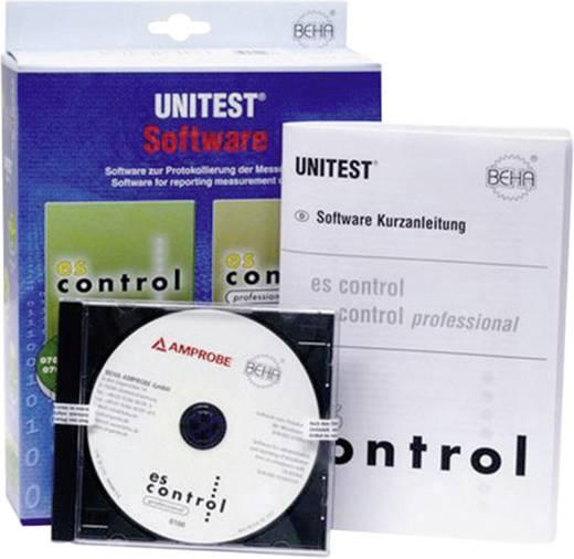 Beha Amprobe es-control 0701-0702/0113 2390081 Software es-control (zonder interfaceadapter) Geschikt voor GT-600 apparatentester , GT-800 automatische apparatentester