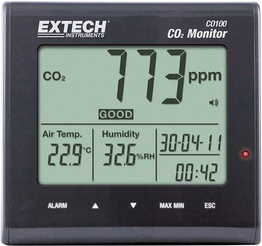 Extech CO100 luchtkwaliteitsmeter