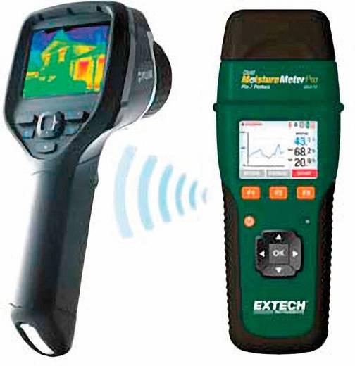 Extech MO270 Materiaalvochtigheidsmeter Meetbereik bouwvochtigheid 0 tot 99.9 %Vol. Meetbereik houtvochtigheid 6 tot 99.9 %Vol.