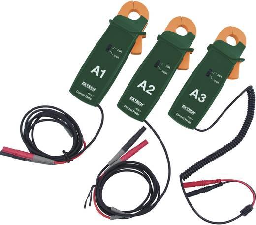 Extech PQ34-2 AC-stroomtangadapterset, max. 200 A, 19 mm tangopening, Geschikt voor Vermogensanalyseapparaat Extech PQ3450, PQ3470