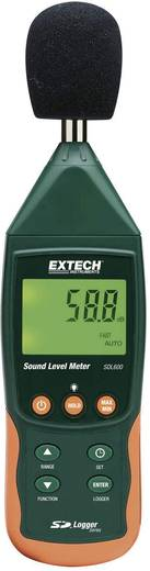 Extech SDL600 Geluidsniveaumeter met geïntegreerde datalogger, geluidsmeter 31.5 - 8000 H