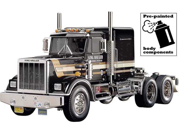Tamiya King Hauler Black Edition 1:14 Elektro RC truck Bouwpakket