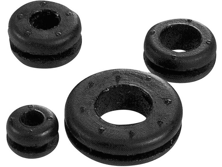 LappKabel SKINDICHT LA 7 Kabeldoorvoering Klem-Ã (max.) 7 mm Chloroprene rubber Zwart 100 stuks