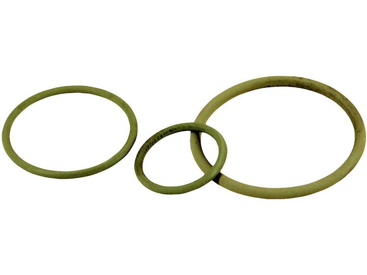 Dichtring PG21 Nitril-butadieen rubber Groen LappKabel SKINDICHT O-RING PG 21/26X2 VITON 50 stuks
