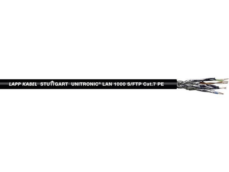 LAPP 2170197 Netwerkkabel CAT 7 S FTP 4 x 2 x 0.26 mm² Zwart 1000 m