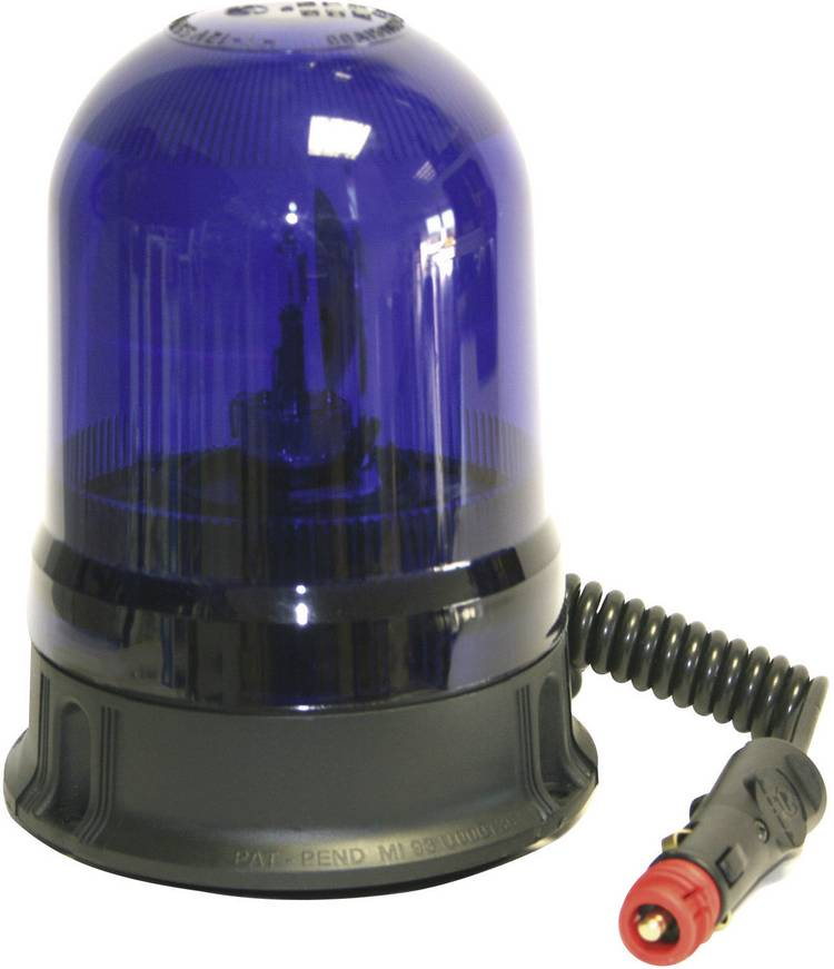 Image of AJ.BA Zwaailicht GF.25 GF.25 ASTRAL 12 V, 24 V werkt op boordnet Zuignap, Magneetbevestiging Blauw
