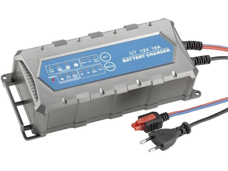 IVT Automatische oplader 12 V 10 A PL-C010P Automatische acculader 12 V