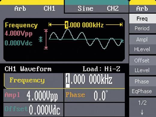 Teledyne LeCroy WaveStation 2022 1 µHz - 25 MHz Sinus, rechthoek, driehoek/helling, puls, ruis, arbitrair