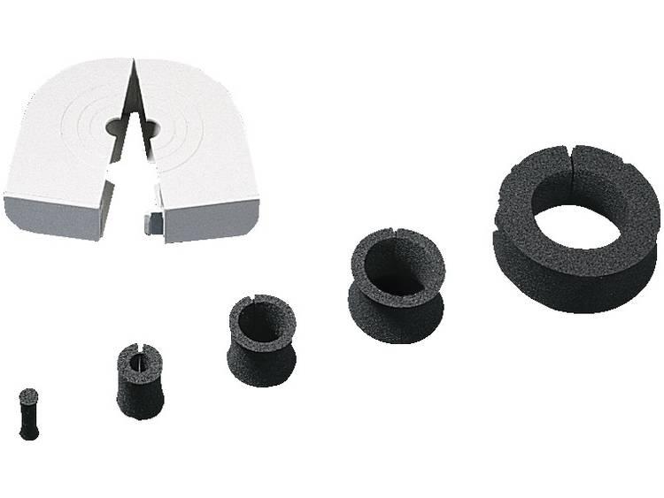 Rittal 4311.000 Kabeldoorvoering Klem-Ã (max.) 36 mm Polypropyleen 10 stuks