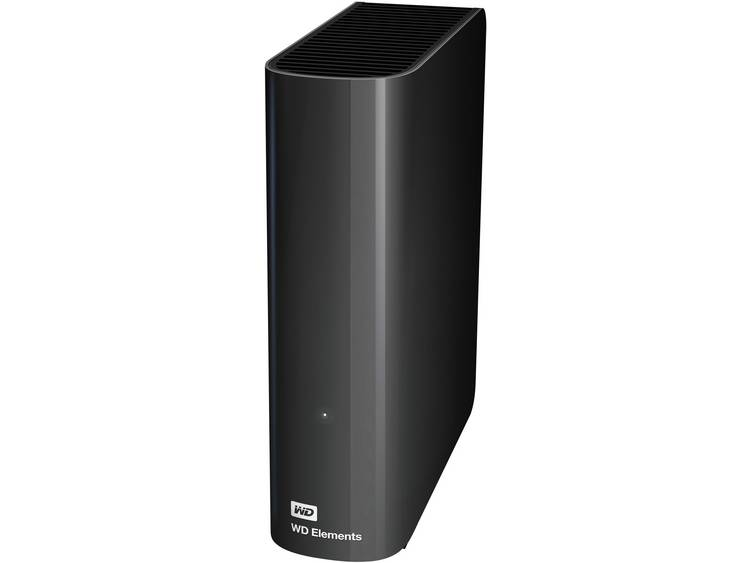 Externe harde schijf (3.5 inch) 4 TB Western Digital Elements⢠Zwart USB 3.0