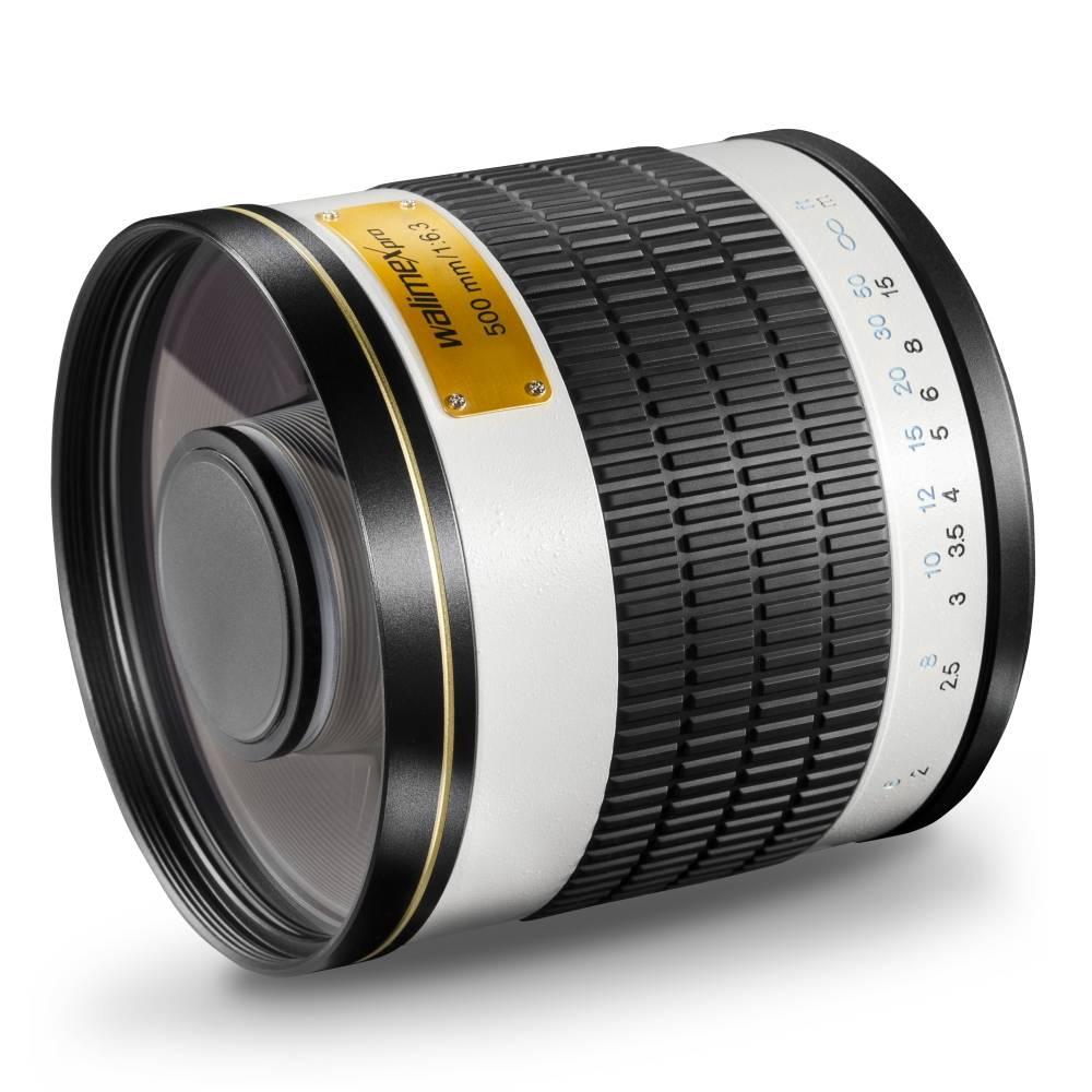 Walimex Pro 500/6,3 DX Spiegeltele T2 15528 Teleobjektiv f/1 - 6.3 500 mm
