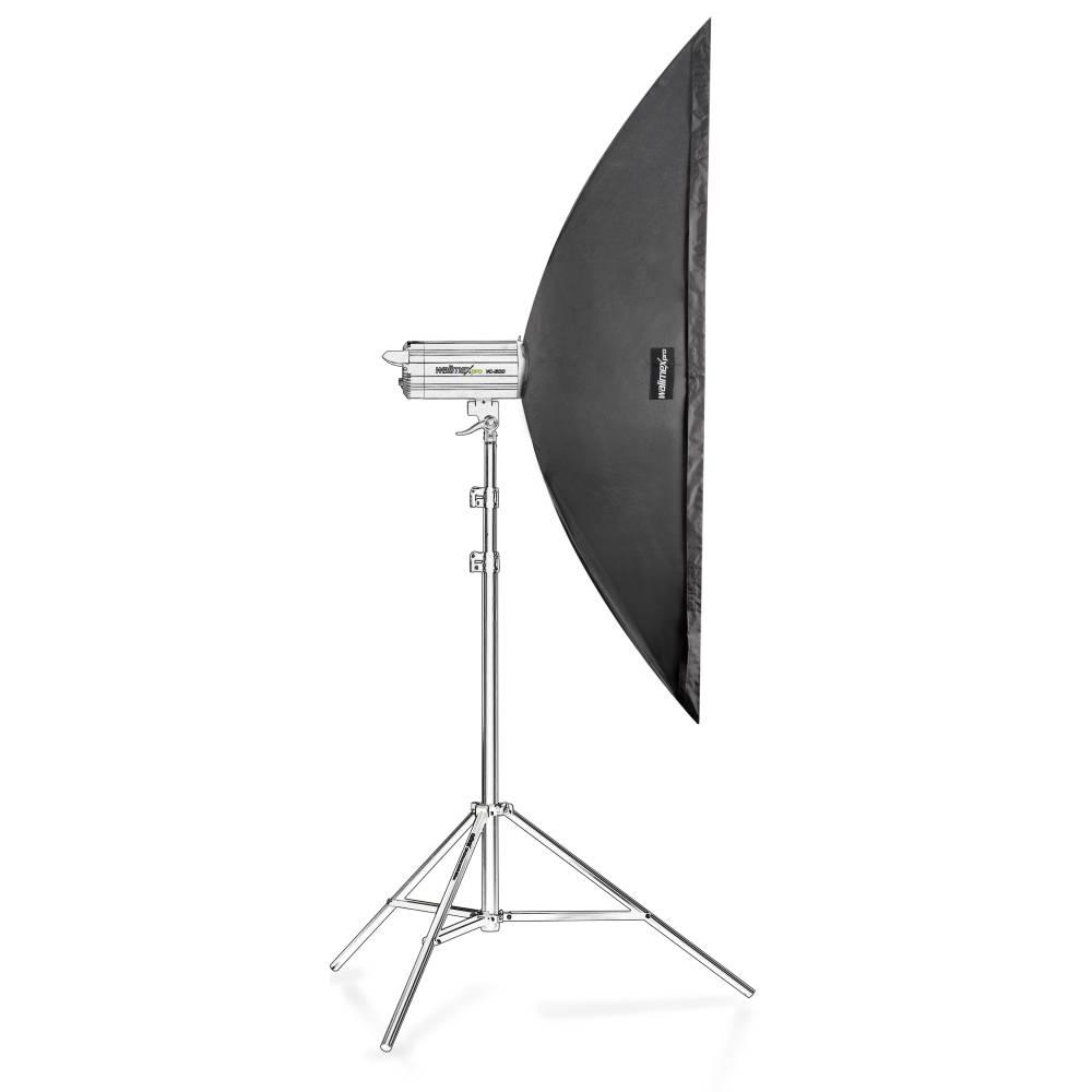 Walimex Pro Striplight 15970 Softbox (L x B x H) 50 x 40 x 180 cm 1 st