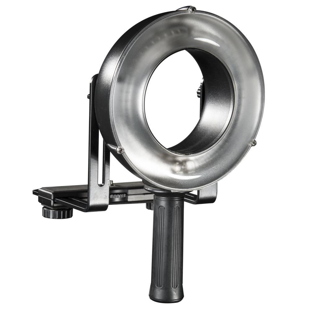 Ringblixt Walimex Pro GXR-400 Ljuskänslighet ISO 100/50 mm 52