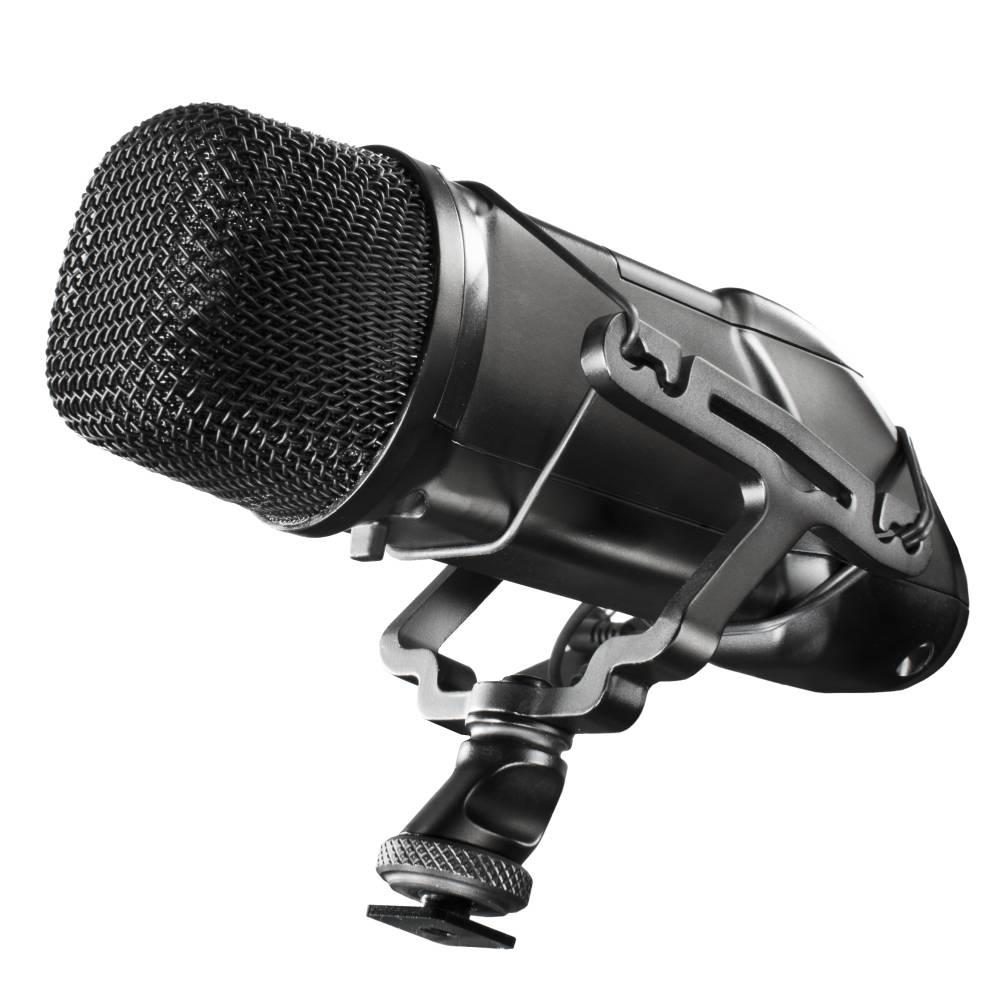 Walimex Pro Director 1 DSLR Kameramikrofon inkl. vindskydd, Blixtsko-fäste
