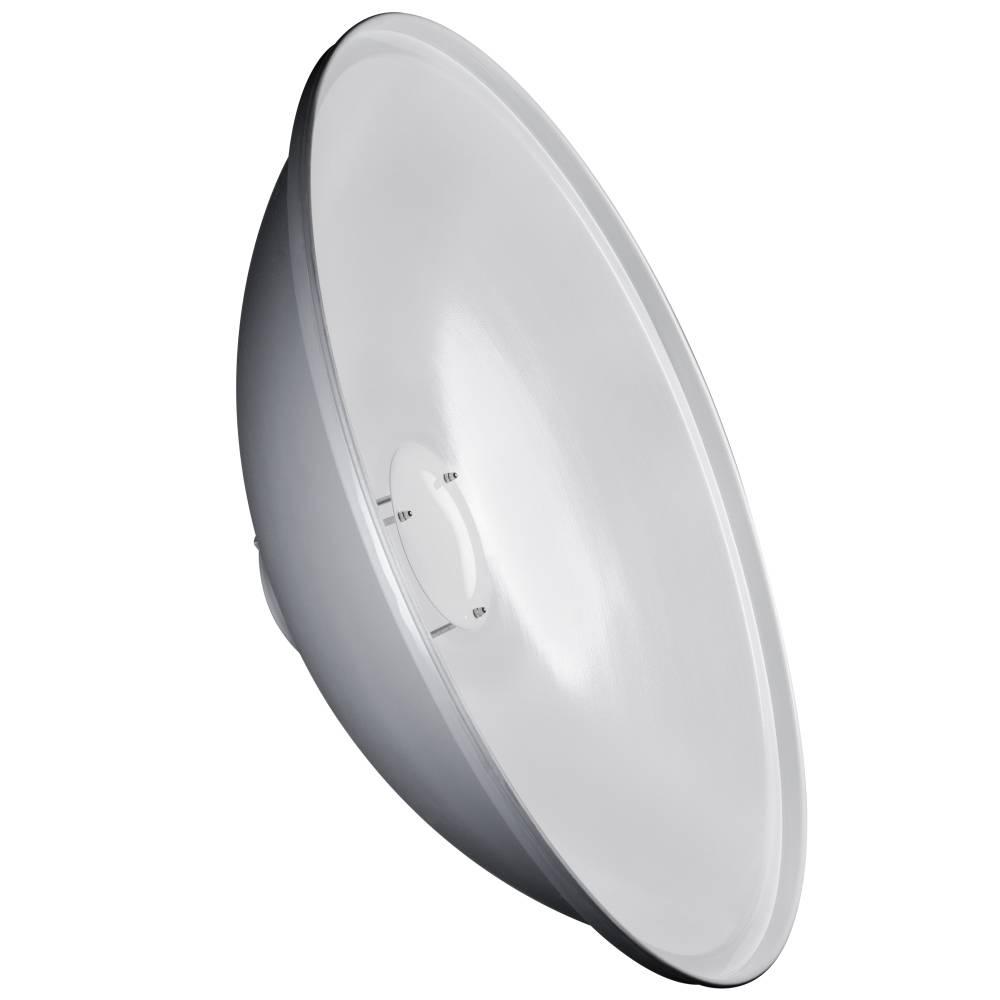 Walimex Pro Beauty Dish 50cm walimex pro & K, weiß 18622 Reflektor (Ø x L) 50 cm x 18.5 cm 1 st