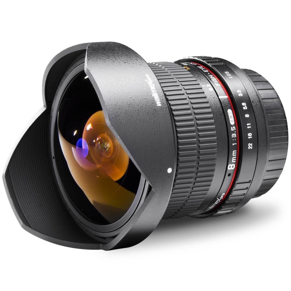 Walimex Pro Fish-Eye II 18698 Fish-Eye-objektiv f/1 - 3.5 8 mm