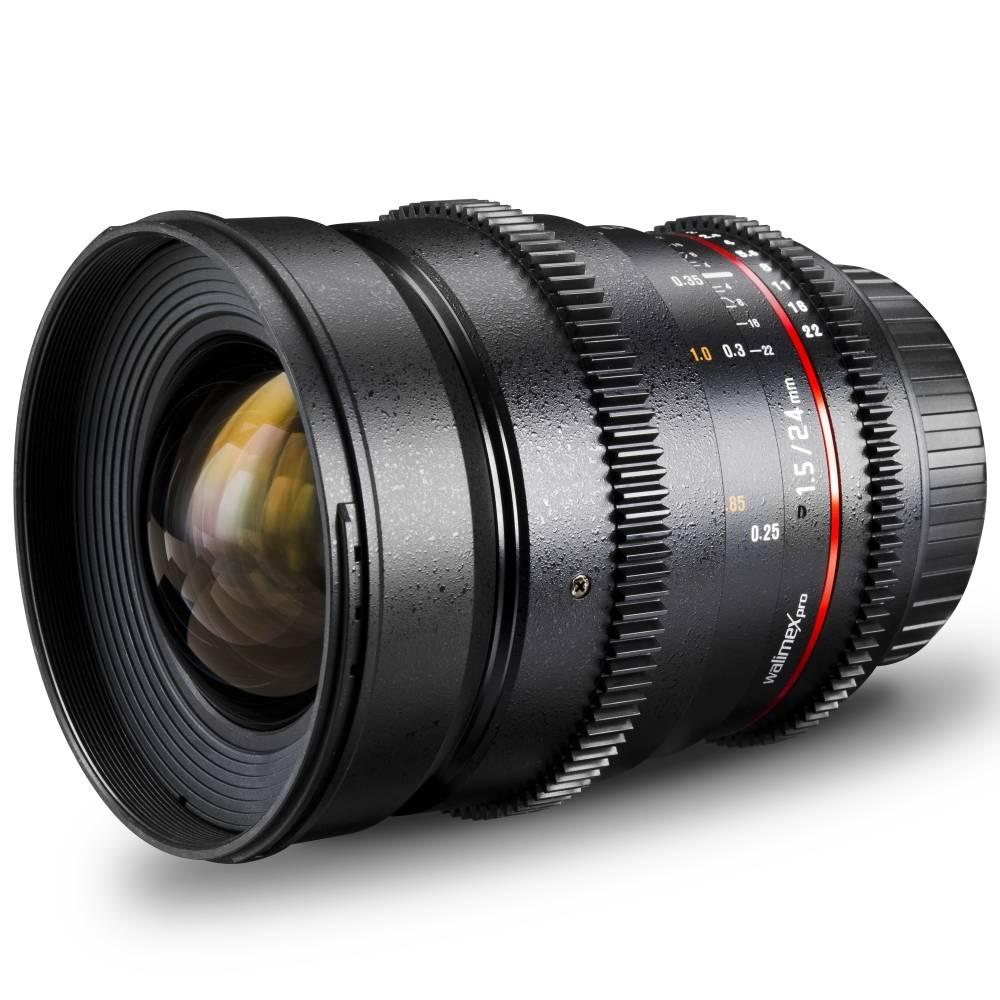 Walimex Pro 24/1,5 VDSLR 18787 Vidvinkelobjektiv f/1 - 1.5 24 mm