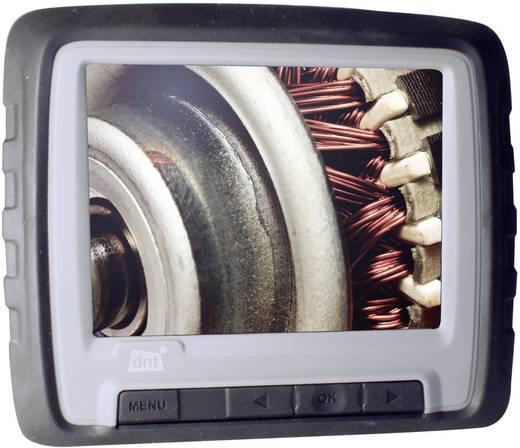 dnt 52119 Endoscoop Sonde-Ø: 9 mm Sondelengte: 100 cm Focus, Waterdicht, Afneembare monitor, WiFi, Spatwaterdichte monitor