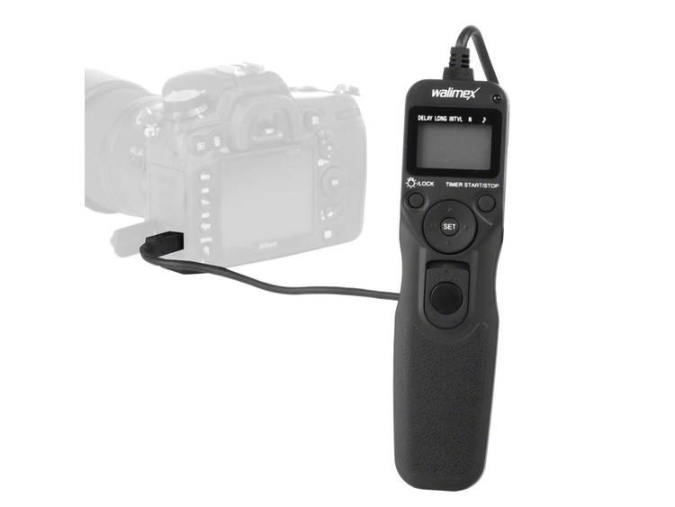 Ontspanner met timer Walimex Nikon N1 Ontspanner met timer