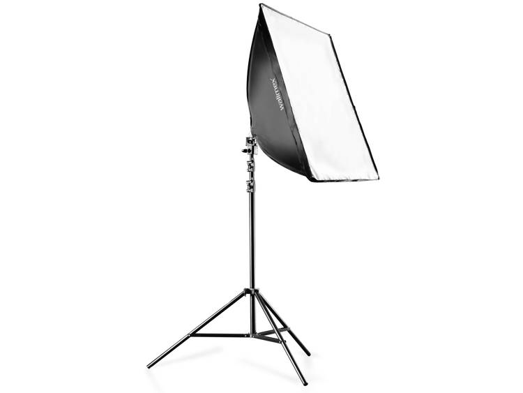 Fotolamp Walimex Set Daylight 250 + 40 x 60 cm 16301 50 W