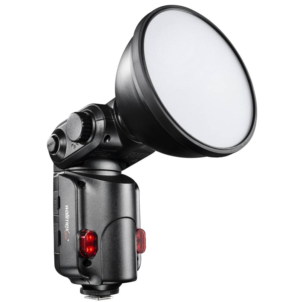 Påkopplingsbar blixt Walimex Pro Light Shooter 180 Ljuskänslighet ISO 100/50 mm 60
