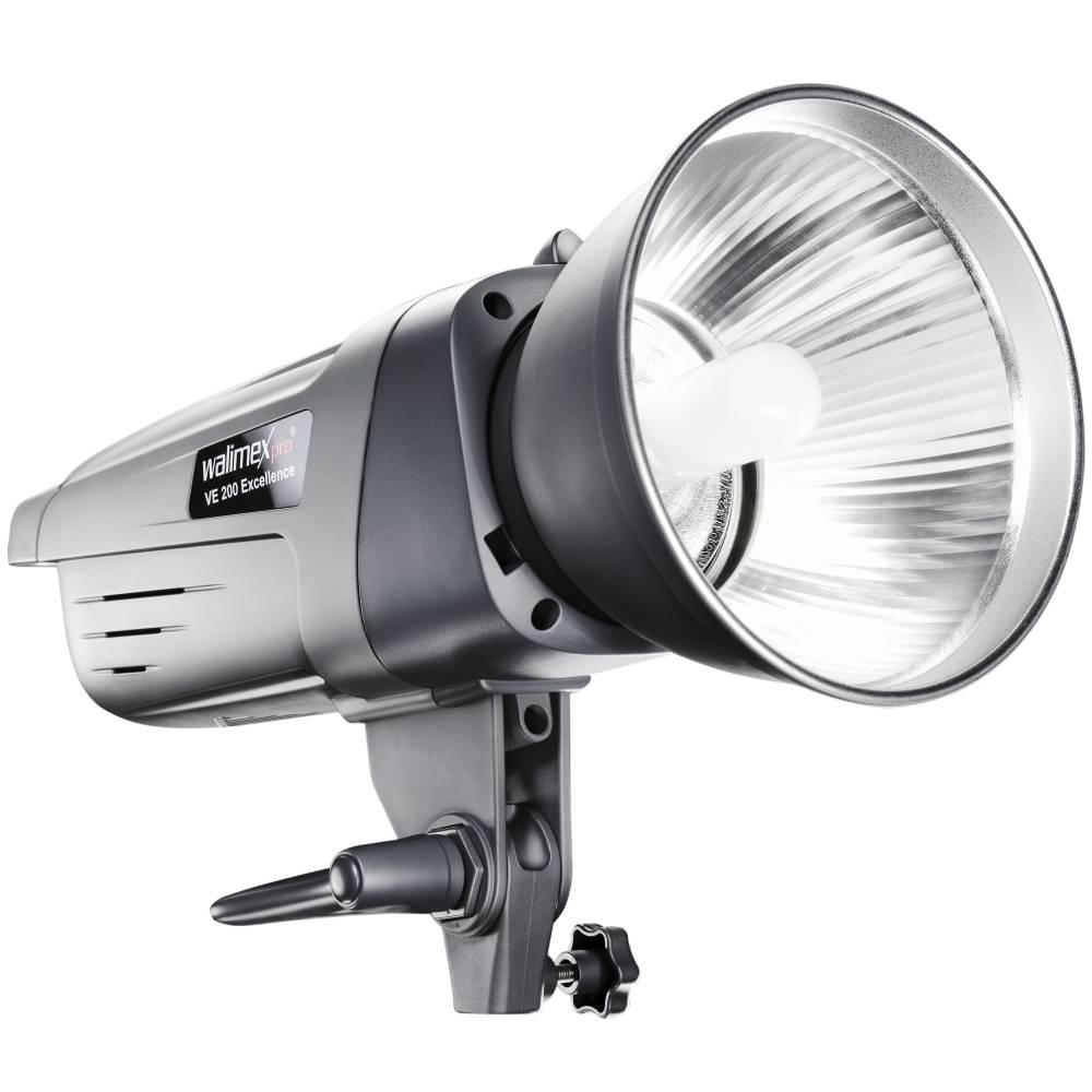 Walimex Pro VE-200 Excellence Studioblixt Blixteffekt 200 Ws