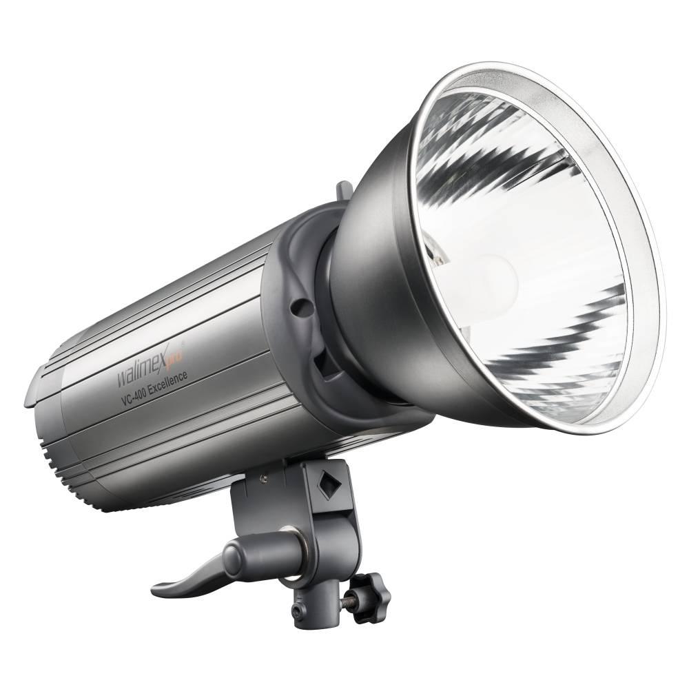 Studioblixtlampa (value.1377174) Walimex Pro VC-400 Excellence Ljuskänslighet ISO 100/50 mm 70