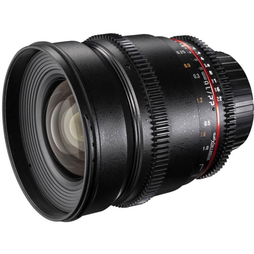 Walimex Pro Objektiv VDSLR 19791 Vidvinkelobjektiv f/1 - 2.2 16 mm