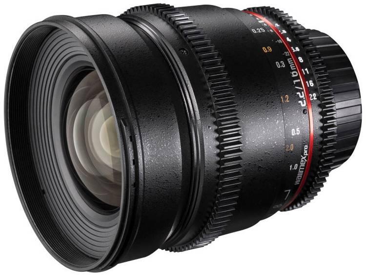 Walimex Objektiv VDSLR Breedhoeklens f/1 - 2.2 16 mm