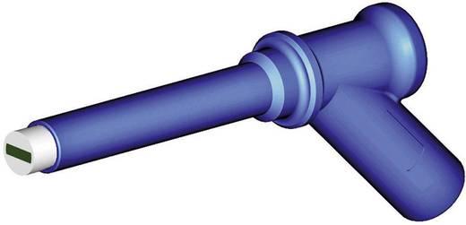 Stäubli XMA-7L Veiligheids-testpunt Steekaansluiting 4 mm CAT IV 1000 V Blauw