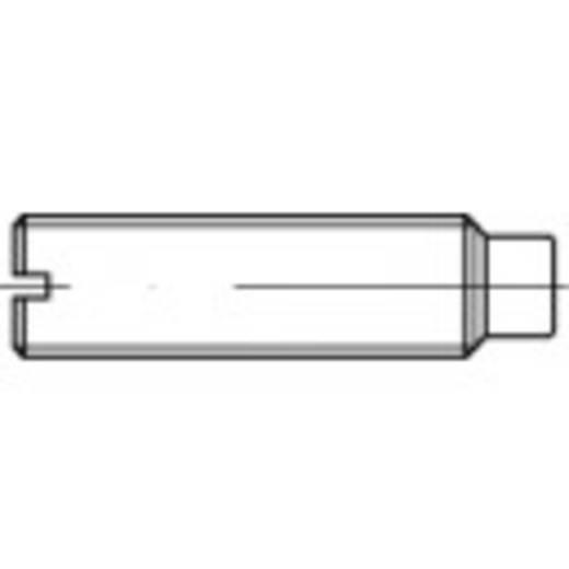TOOLCRAFT 106450 Stifttap M6 8 mm Staal 100 stuks