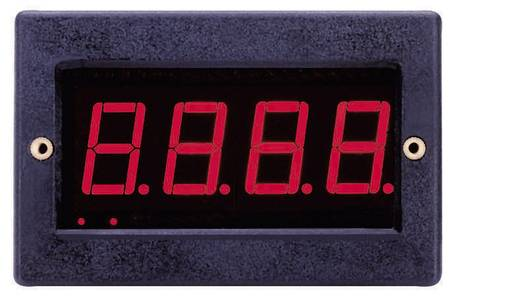 VOLTCRAFT PM 129 Digitale inbouwmeter, LED-paneelmeter, Inbouwmaten 67 x 29 mm