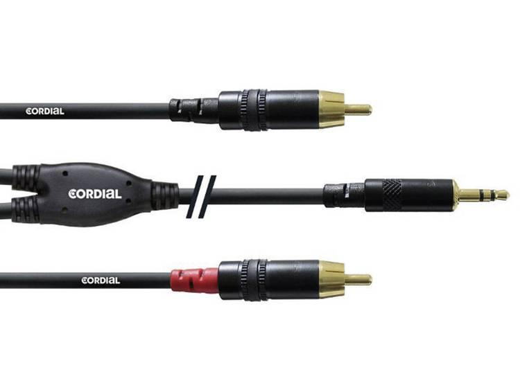 Cordial 3 m REAN Connector 35 mm  2x Cinch Y Kabel