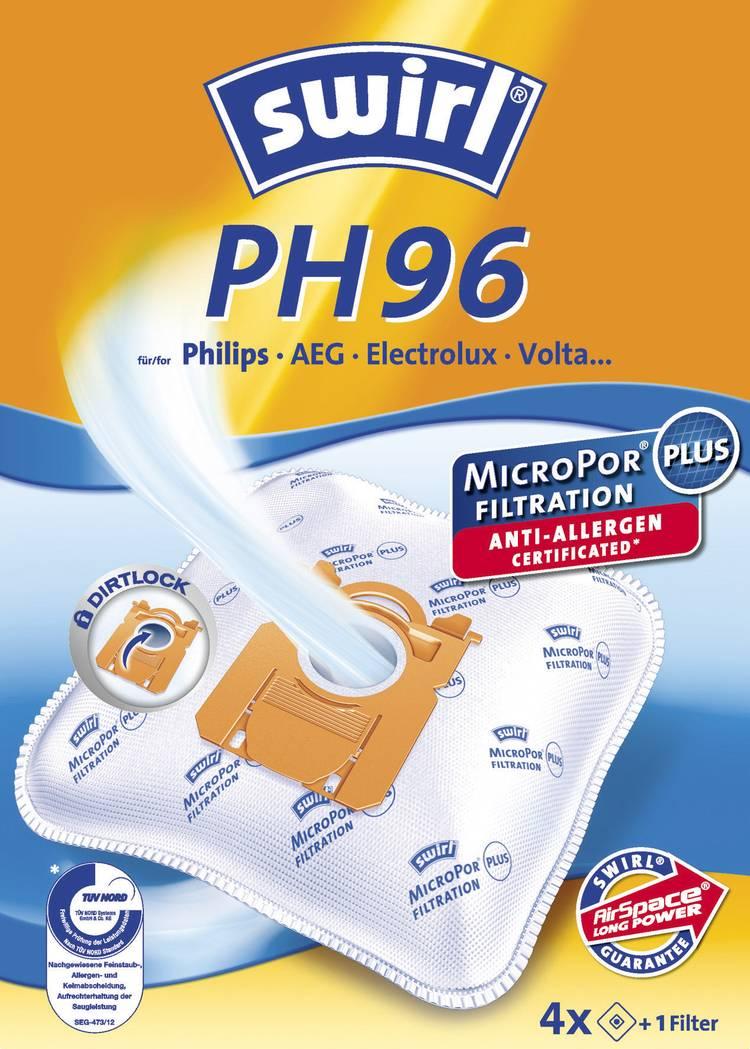 Swirl PH 96 MicroPor Plus Stofzuigerzak 4 stuks