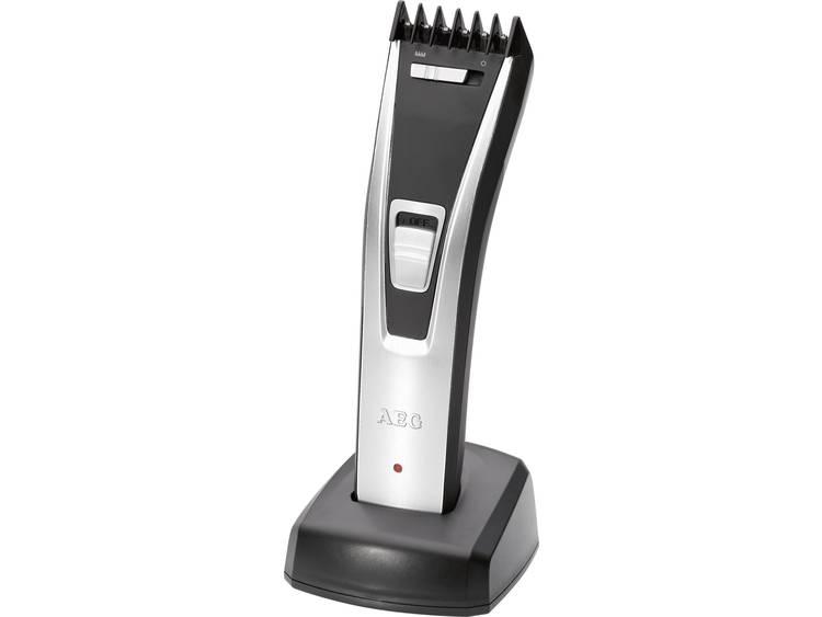 AEG HSM-R5614 Haartrimmer Zwart-Zilver