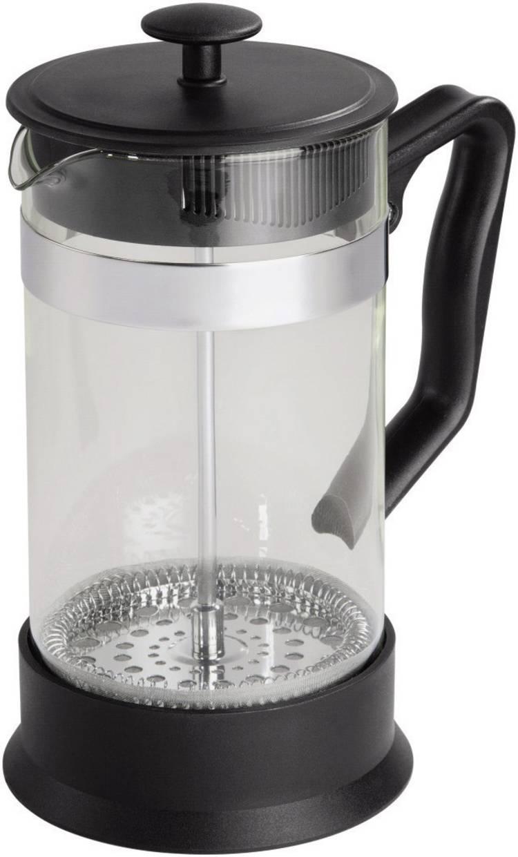 Xavax Tee- Kaffee-Bereiter Koffie- theemachine Glas (helder). Zwart