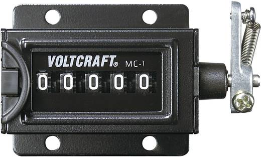 VOLTCRAFT MC-1 Mechanische teller Inbouwmaten 58 x 47 mm