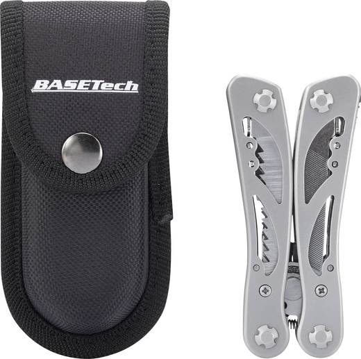 Basetech 1086176 Multitool Aantal functies 12 RVS
