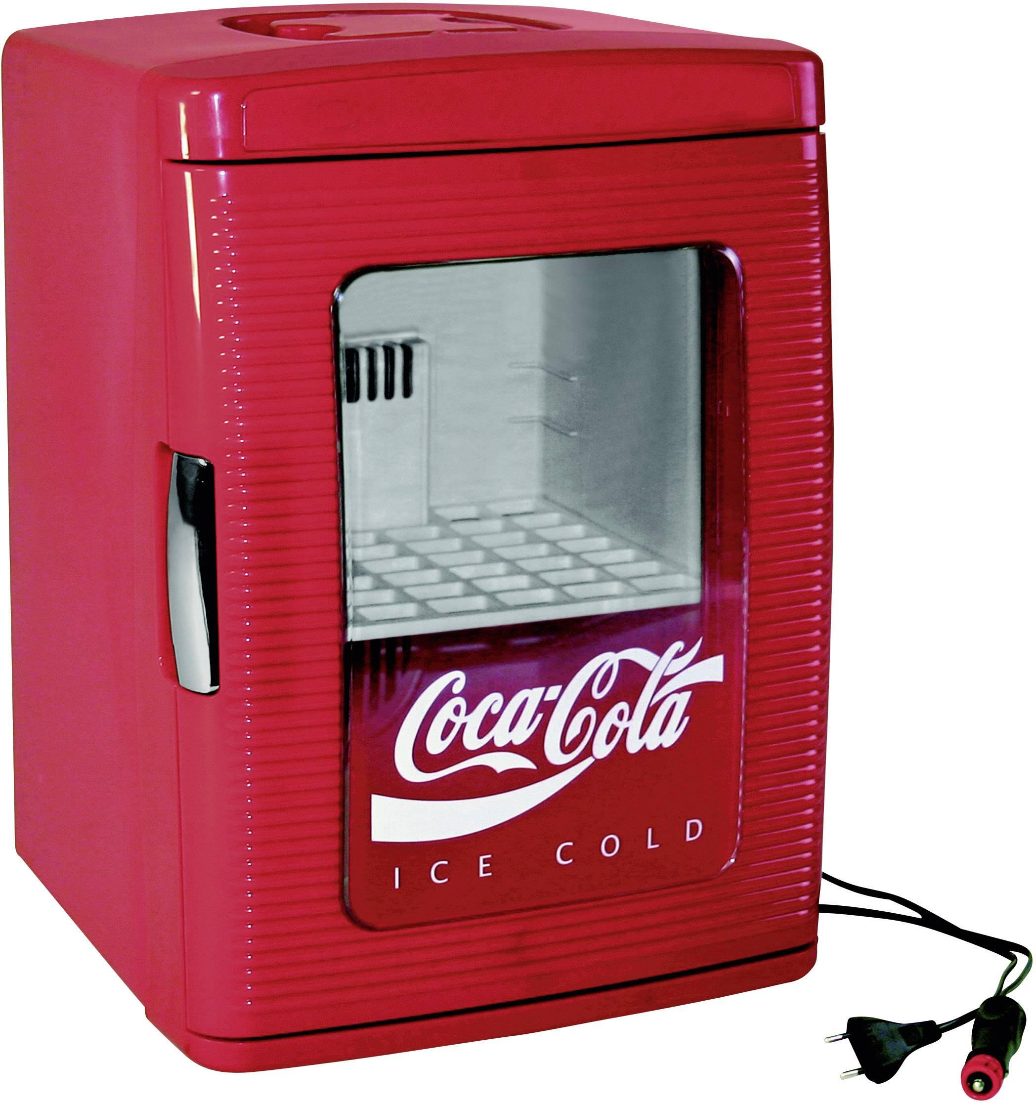 Verwonderend Mini-koelkast Thermo-elektrisch Coca-Cola MF25 12 V, 230 V Rood 23 ZD-07
