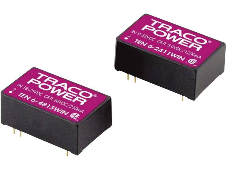 TracoPower TEN 6 4811WIN DC DC converter print 48 V DC 5 V DC 1.2 A 6 W Aantal