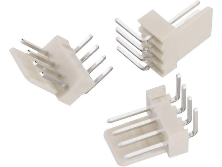 Würth Elektronik Male header, inbouw (standaard) WR-WTB Totaal aantal polen 3 Rastermaat: 2.54 mm 61900319521 1 stuks