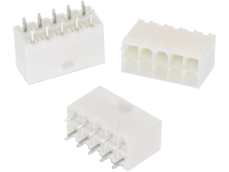 Würth Elektronik Female header, inbouw (standaard) WR-MPC4 Totaal aantal polen 4 Rastermaat: 4.20 mm 64900421122 1 stuks