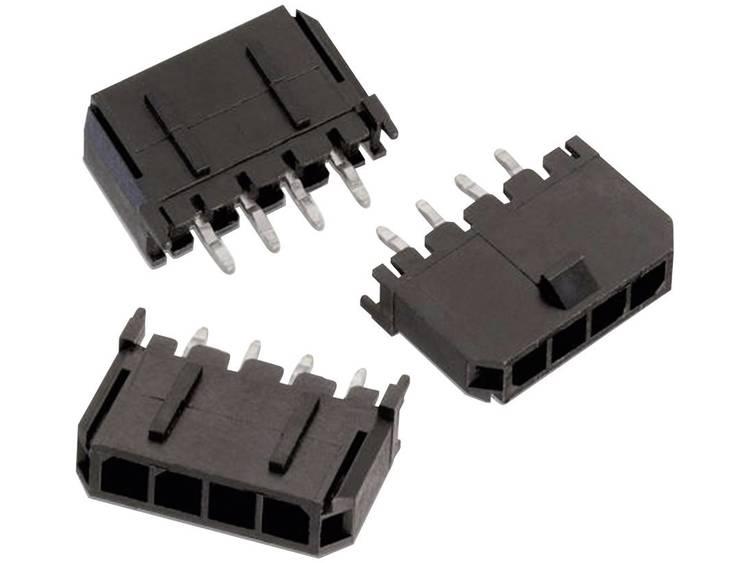 Würth Elektronik Female header, inbouw (standaard) WR-MPC3 Totaal aantal polen 5 Rastermaat: 3 mm 66200511122 1 stuks