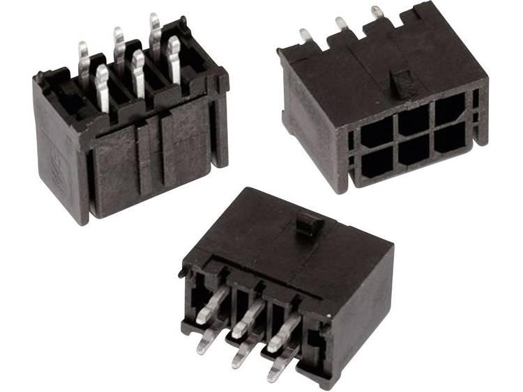 Würth Elektronik Female header, inbouw (standaard) WR-MPC3 Totaal aantal polen 4 Rastermaat: 3 mm 66200421122 1 stuks
