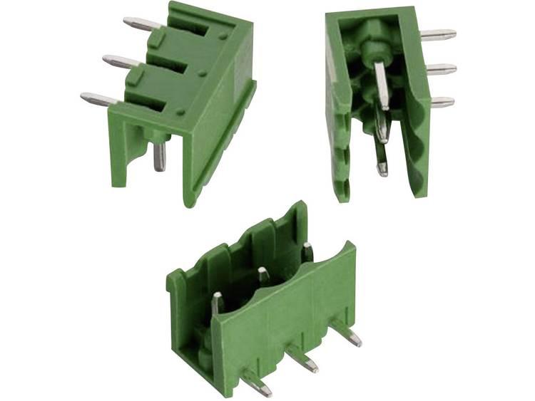 Würth Elektronik Penbehuizing-board 312 Totaal aantal polen 3 Rastermaat: 5.08 mm 691312510003 1 stuks